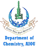 Department of Chemistry, AIOU