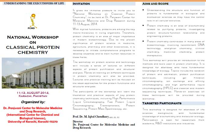 National Workshop on Classical Protein Chemistry