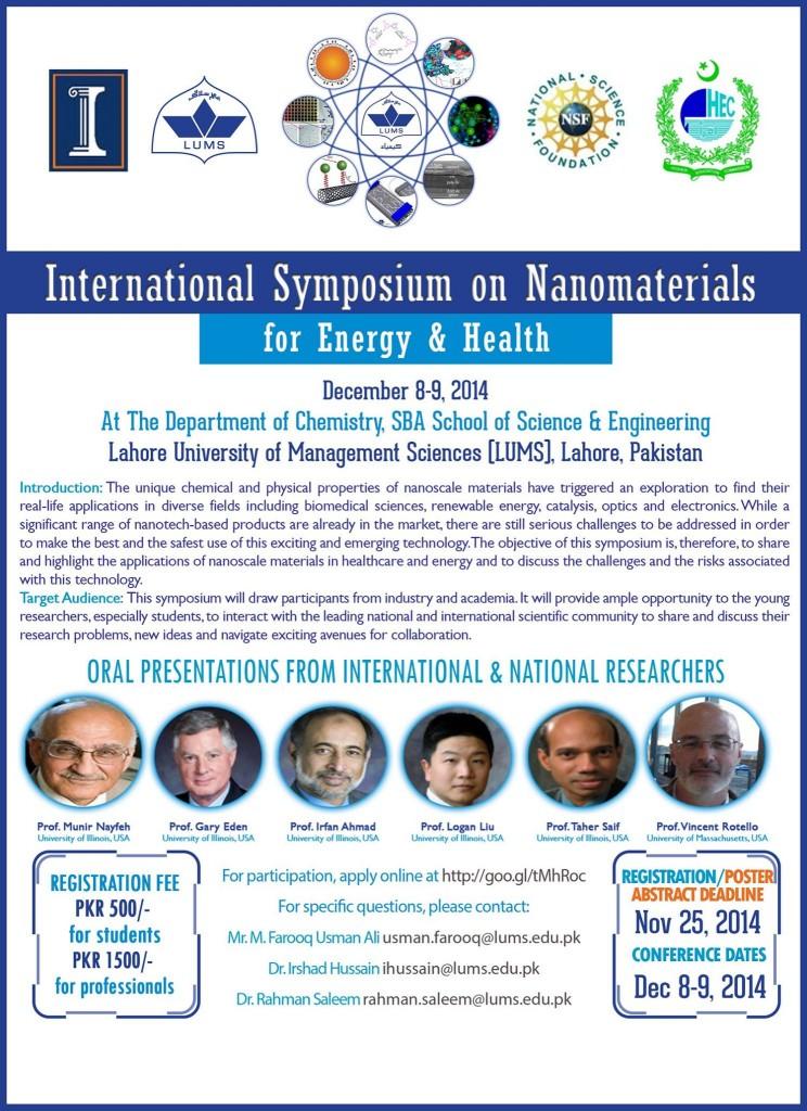 International Symposium on Nanomaterials