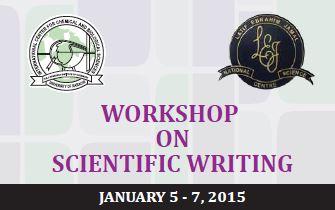 Workshop on Scientific Writing