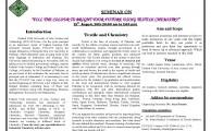 FUUAST Seminar on Textile Chemistry 2015