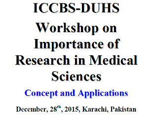 Workshop on Importance of Research in Medical Sciences