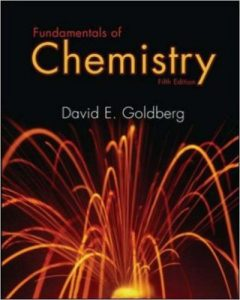 Fundamentals of Chemistry 5e David E. Goldberg