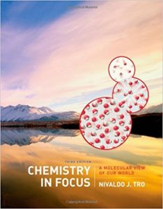 Chemistry in Focus - A Molecular View of Our World by Nivaldo J. Tro
