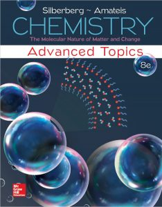 Chemistry The Molecular Nature of Matter and Change with Advanced Topics 8th Edition by Martin Silberberg