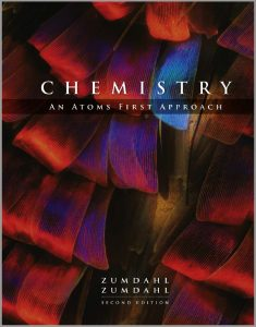 Chemistry An Atoms First Approach (2nd Edition) by Zumdahl and Zumdahl