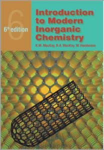 Introduction to Modern Inorganic Chemistry (6th Edition) By MacKay and Henderson
