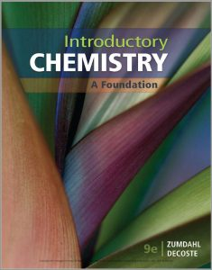 Introductory Chemistry: A Foundation (9th Edition) By Steven S. Zumdahl & Donald J. DeCoste